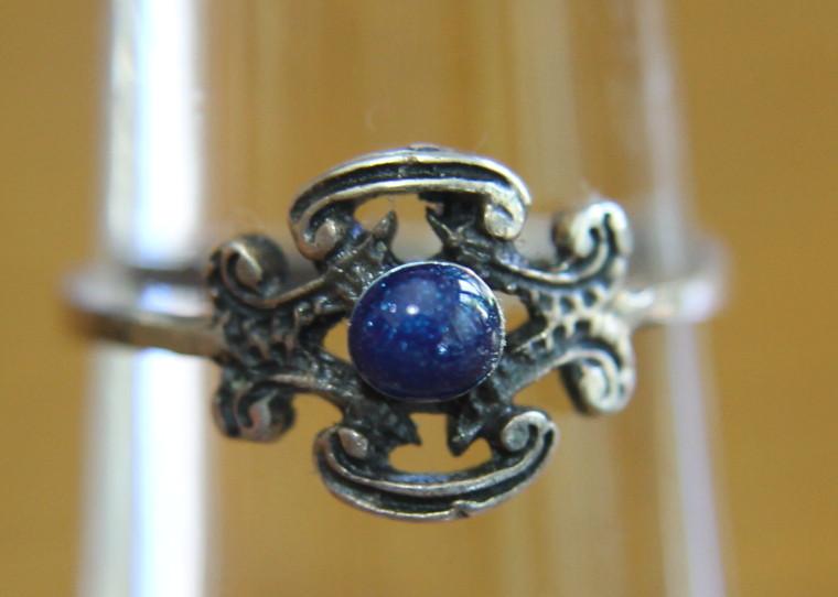 2e35a6ab933e Anillo vintage de plata vieja