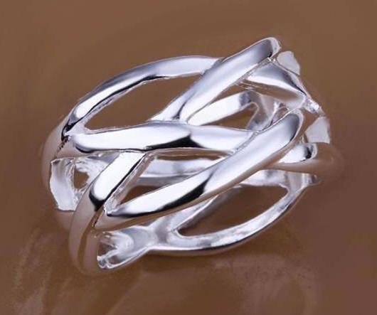 65e41aa36f6a Anillo de plata de ley antialergico de diseño n2235 – Brazaletes y Sortijas