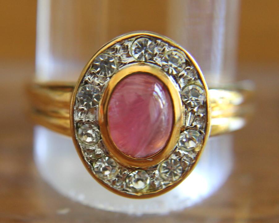 Anillo De Oro De Manacor Piedras Preciosas N1442 Brazaletes Y Sortijas