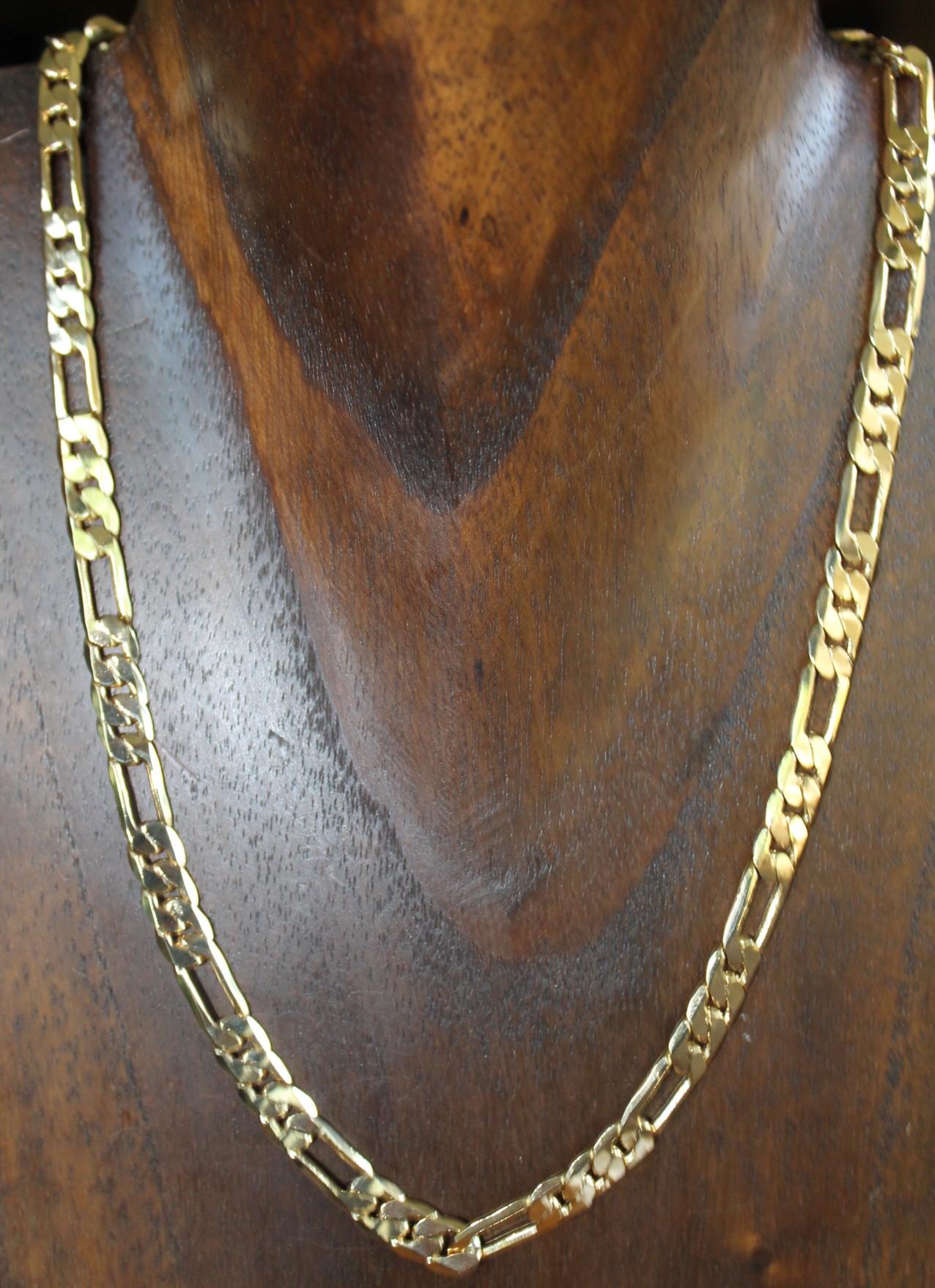 f0a4117bd70c Collar cadena de oro