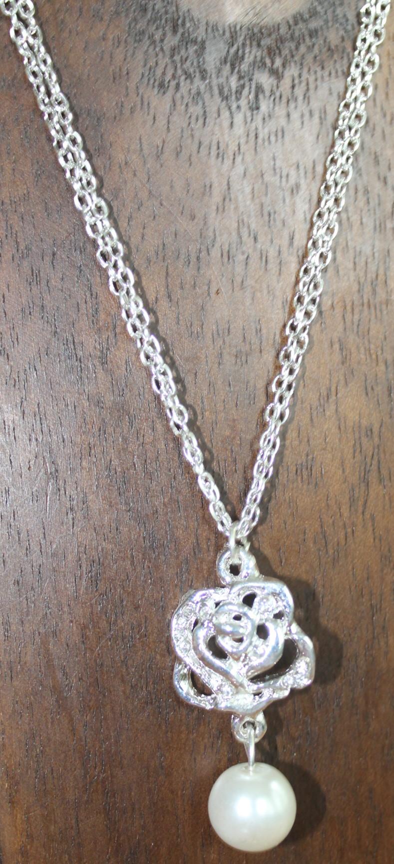 a33251cc469b Collar de bisutería doble cadena original n781 – Brazaletes y Sortijas