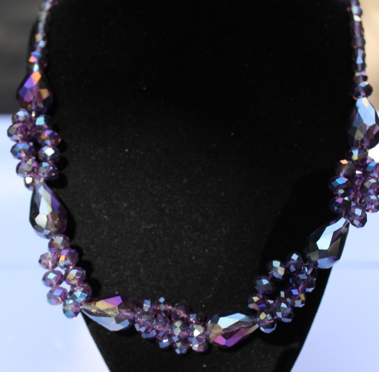 4d9e6ccf6697 Collar cristal de swarovski de diseño de moda n111 – Brazaletes y Sortijas