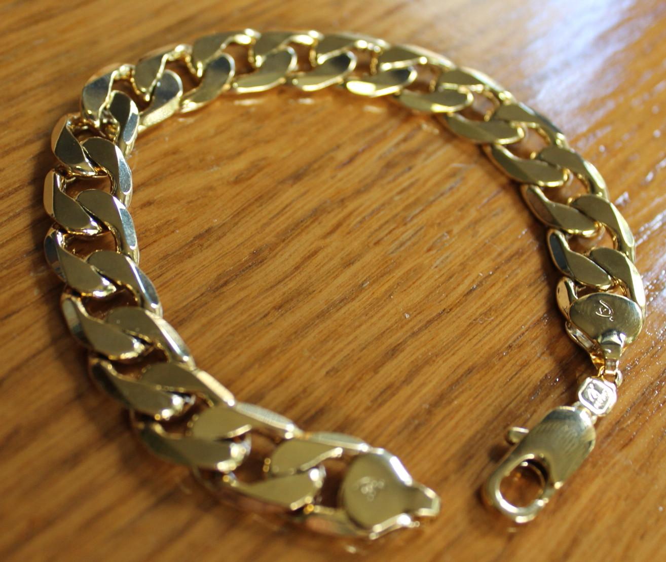 4779b4d84c14 Pulsera gruesa ancha de oro n551 – Brazaletes y Sortijas