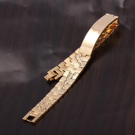 bee7643e3bc7 Pulsera esclava oro rosa de hombre 19 1