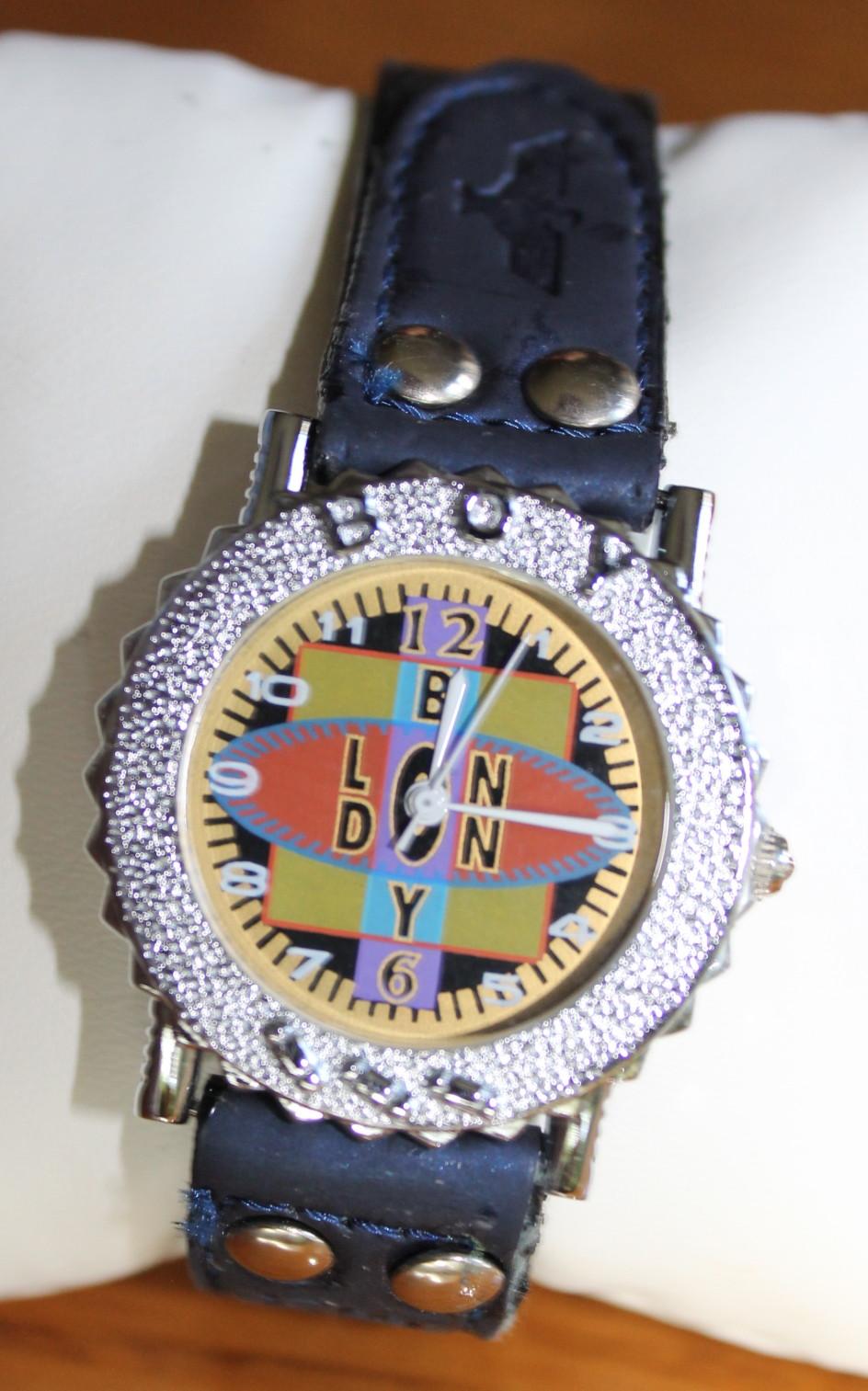 Reloj brazalete mujer vintage retro swarovski n739 - Relojes grandes de pared vintage ...